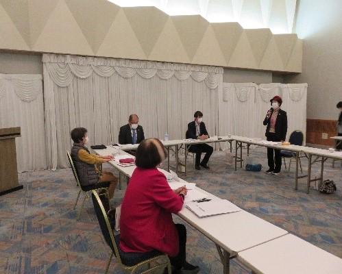 三重県地域婦人団体連絡協議 梶田会長様の質問